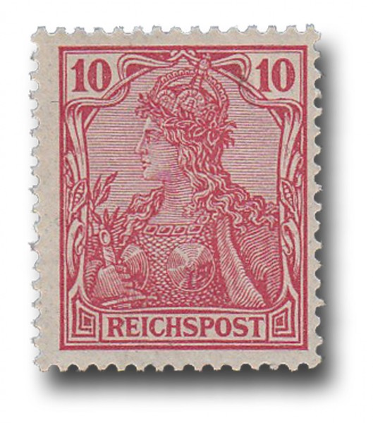 Briefmarke Deutsches Kaiserreich, Germania (I), 1900, Michel Nr. 56 **