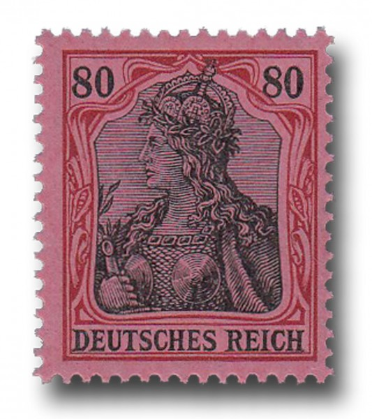 Briefmarke Deutsches Kaiserreich, Germania, 1905 / 1913 Michel Nr. 93 I