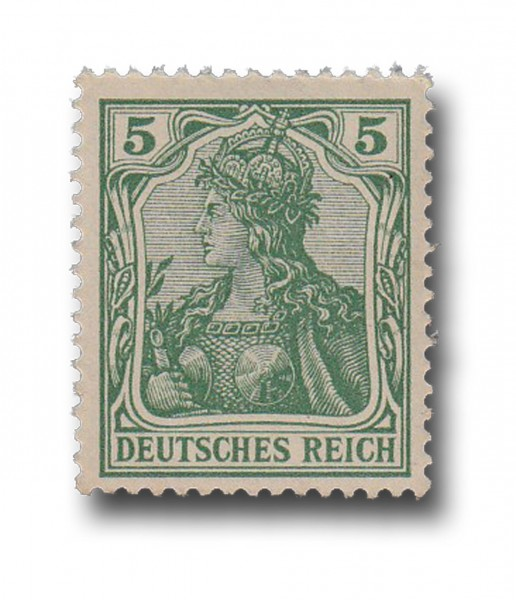 Briefmarke Deutsches Kaiserreich, Germania, 1902, Michel Nr. 70