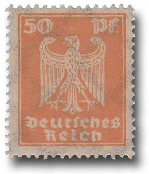 Briefmarke Deutsches Reich Weimarer Republik, 1924, Adler, Michel Nr. 361 X**