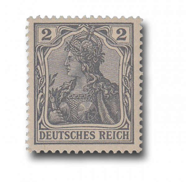 Briefmarke Deutsches Kaiserreich, Germania, 1902, Michel Nr. 68