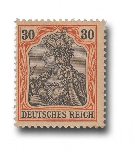Briefmarke Deutsches Kaiserreich, Germania, 1902, Michel Nr. 74