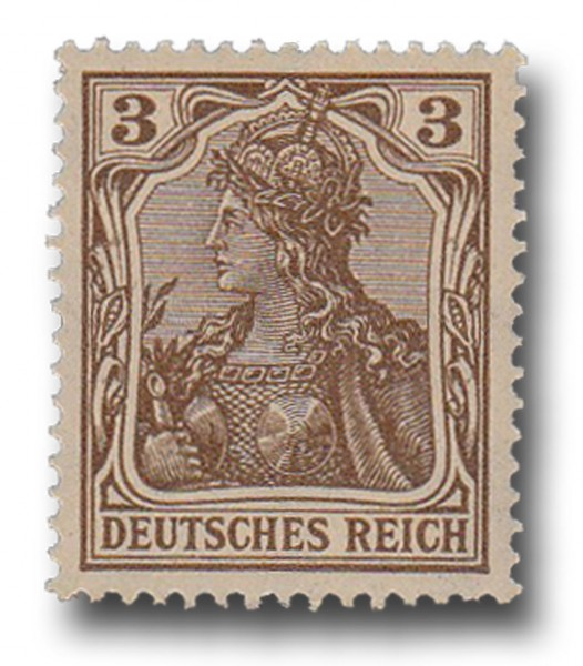 Briefmarke Deutsches Kaiserreich, Germania, 1905 / 1913 Michel Nr. 84 I