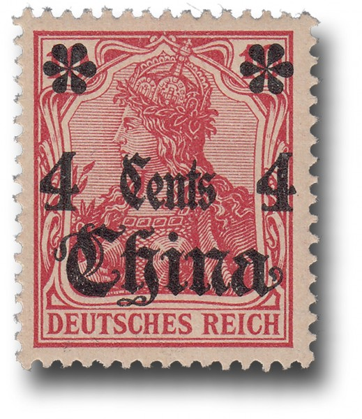 Briefmarke Deutsche Auslandspostämter, China, Michel Nr. 30 **
