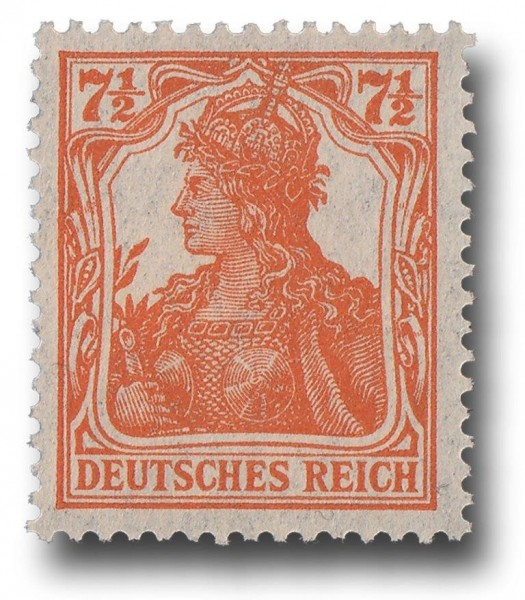 Briefmarke Deutsches Kaiserreich, Germania 1916/17, Michel Nr. 99