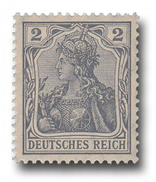 Briefmarke Deutsches Kaiserreich, Germania, 1905 / 1913 Michel Nr. 83 I