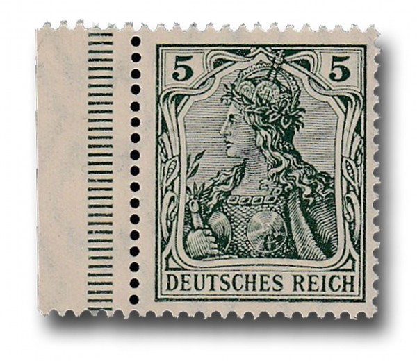 Briefmarke Deutsches Kaiserreich, Germania, 1905 / 1913 Michel Nr. 85 Ib