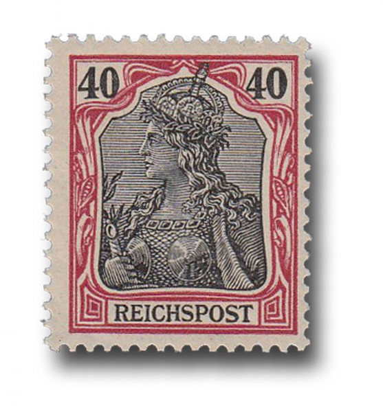 Briefmarke Deutsches Kaiserreich, Germania (I), 1900, Michel Nr. 60 **