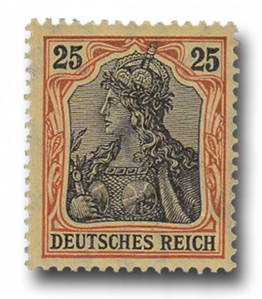 Briefmarke Deutsches Kaiserreich, Germania, 1905 / 1913 Michel Nr. 88 I
