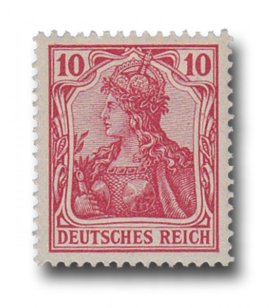 Briefmarke Deutsches Kaiserreich, Germania, 1902, Michel Nr. 71