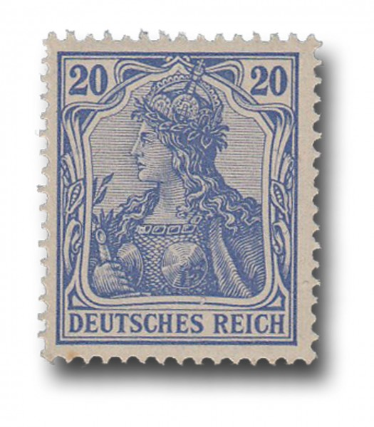 Briefmarke Deutsches Kaiserreich, Germania, 1902, Michel Nr. 72